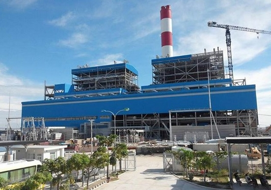 nhà máy nhiệt điện sông hậu